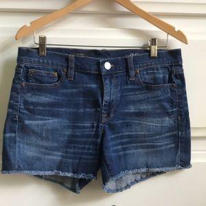 J. Crew Indigo Denim Shorts